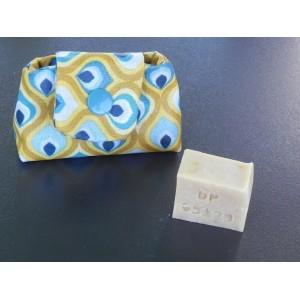 Porte dentifrice tissu
